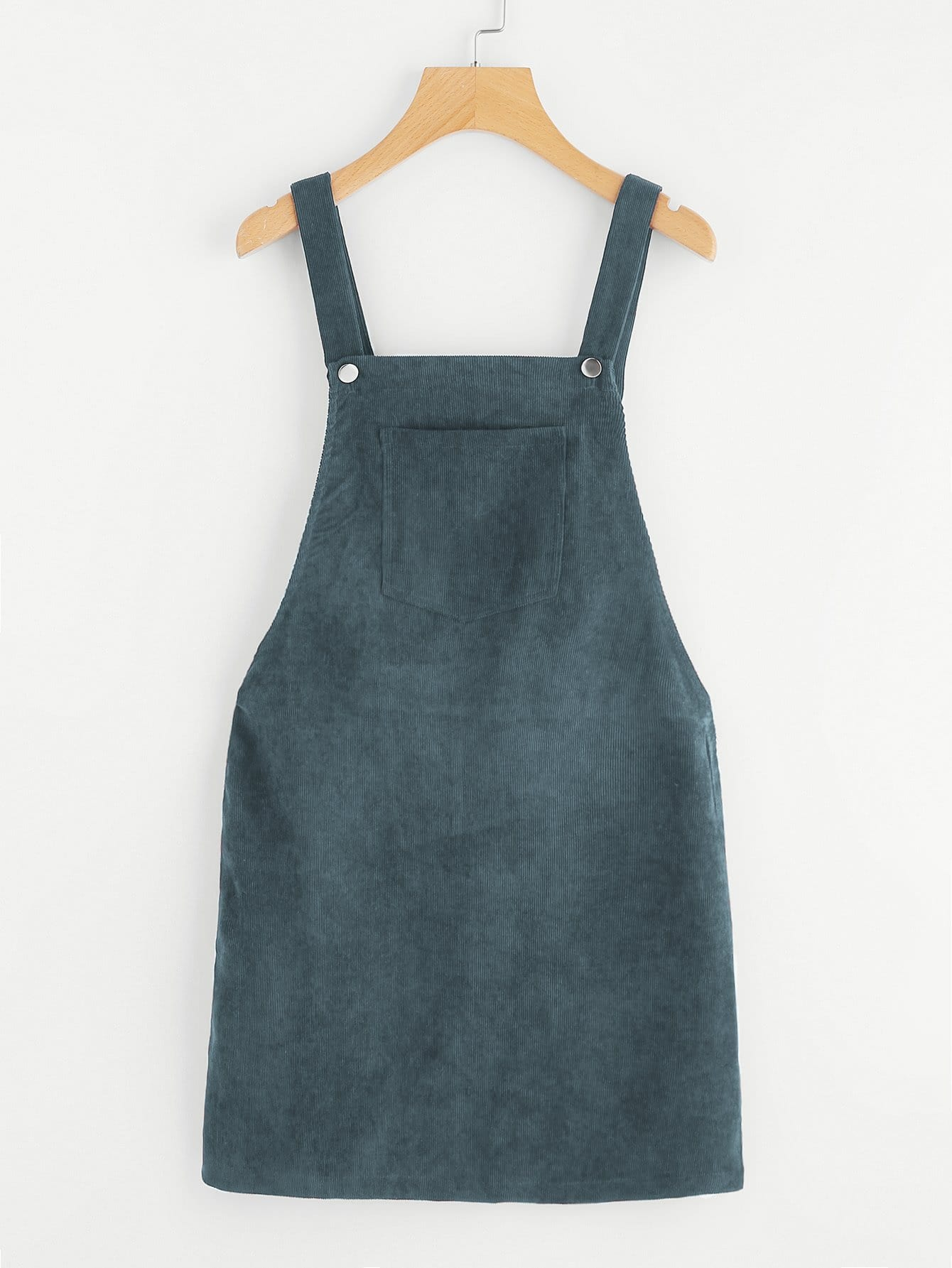 986eff2b232 Pocket Front Overall Corduroy Dress