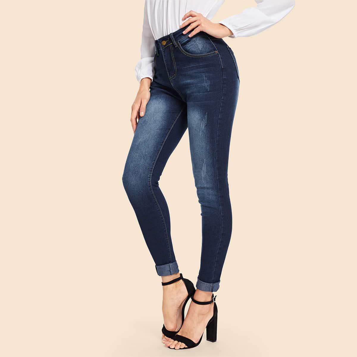 Marine Casual Vlak jeans