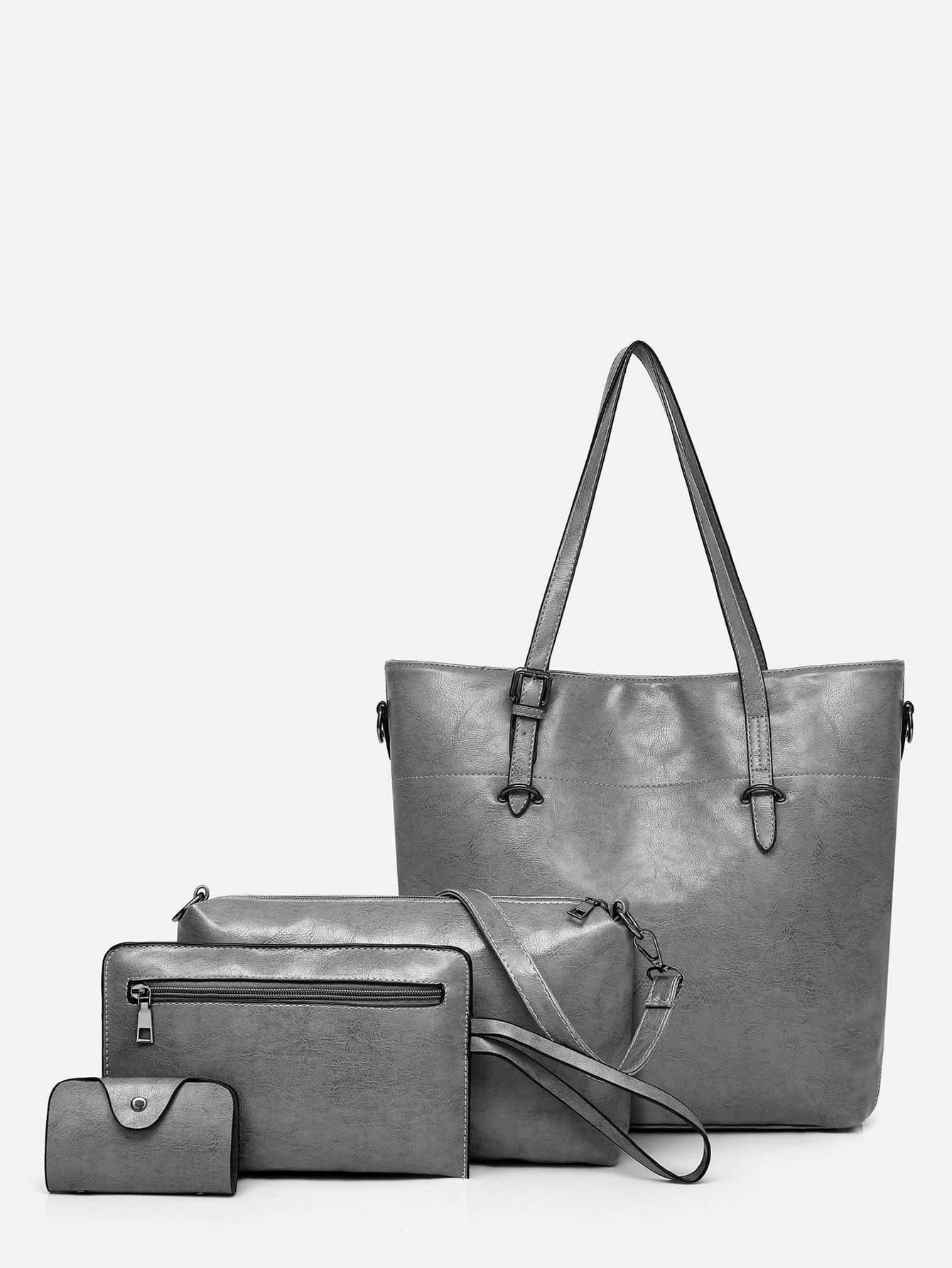 Купить Комплект сумки 4 шт с внутренной сумкой, null, SheIn