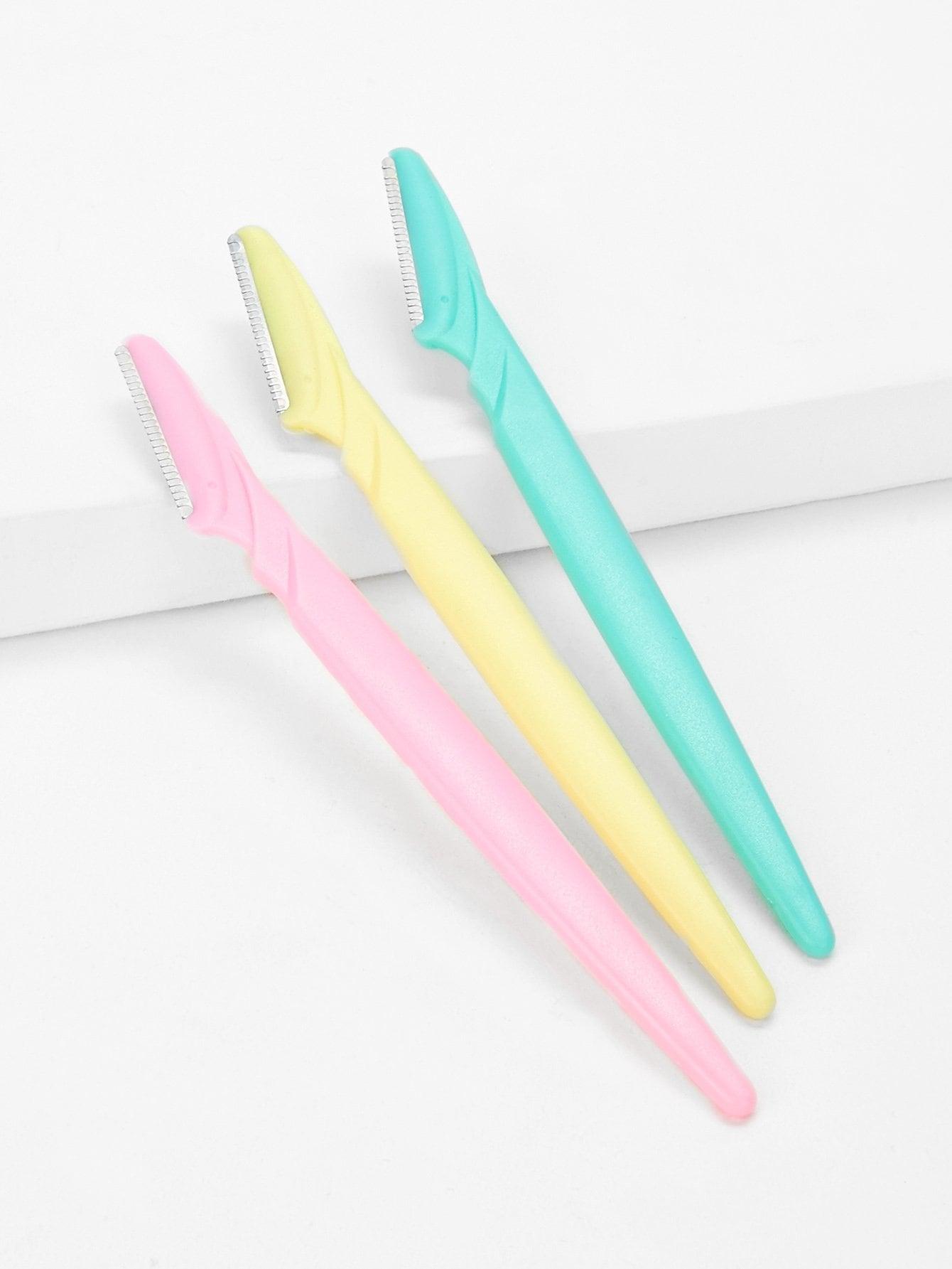 Купить Набор ножа для формирования бровей 3шт, null, SheIn
