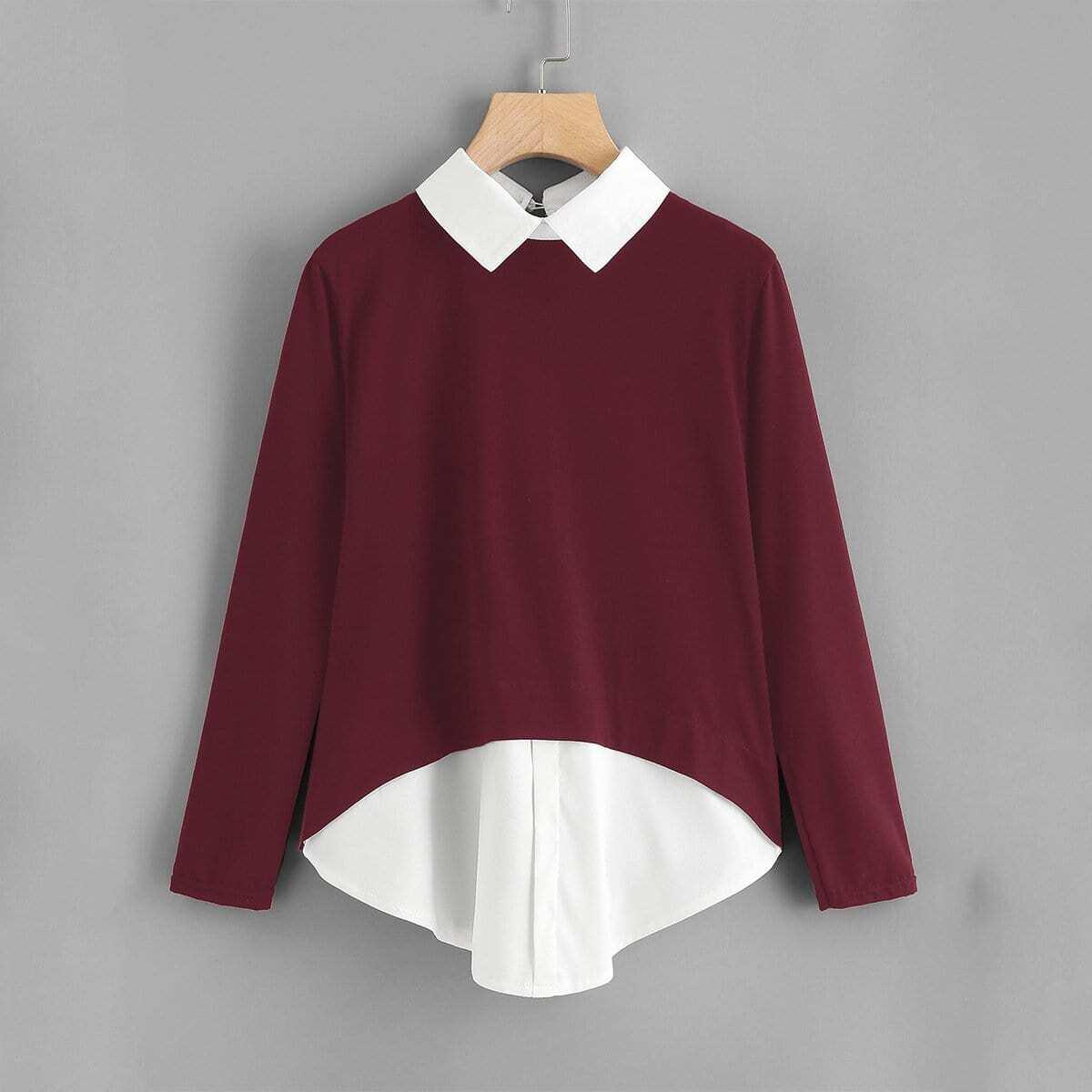 2 in 1 sweatshirt