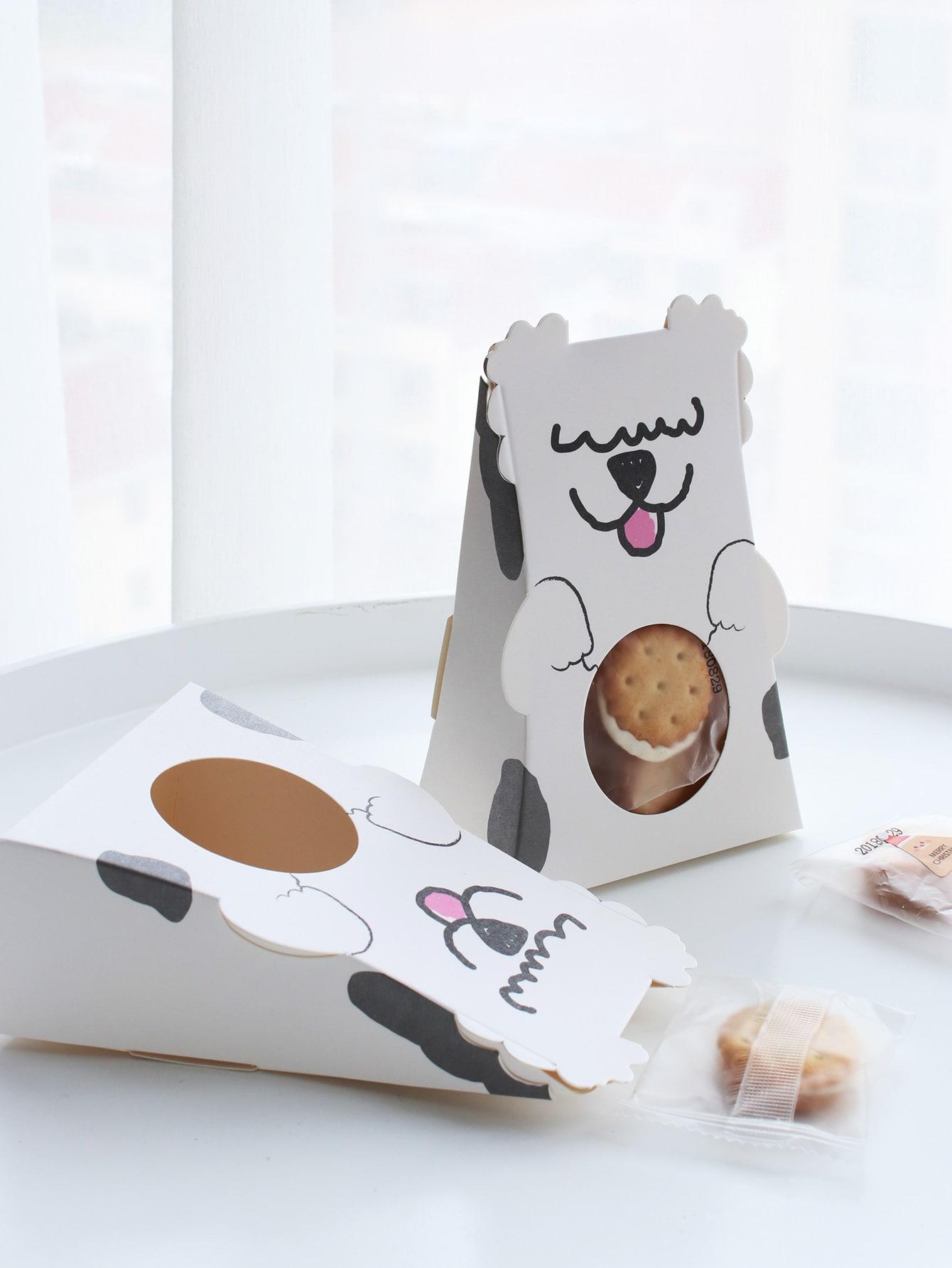 Купить Собака дизайн подарочной коробке 10шт., null, SheIn