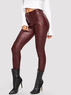 Pu Skinny Pants