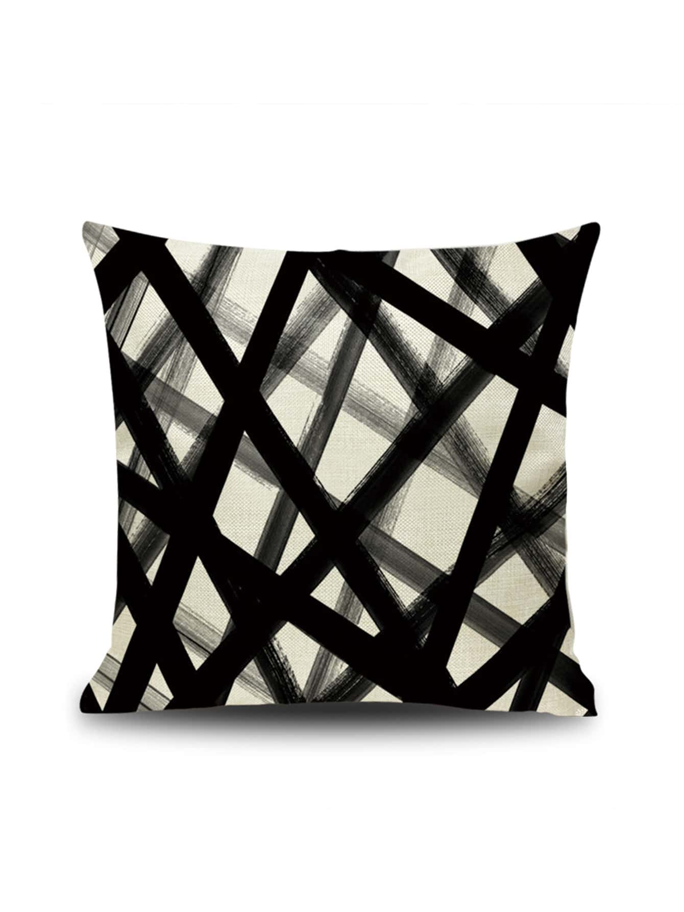 Купить Graffiti Line Pattern Cushion Cover