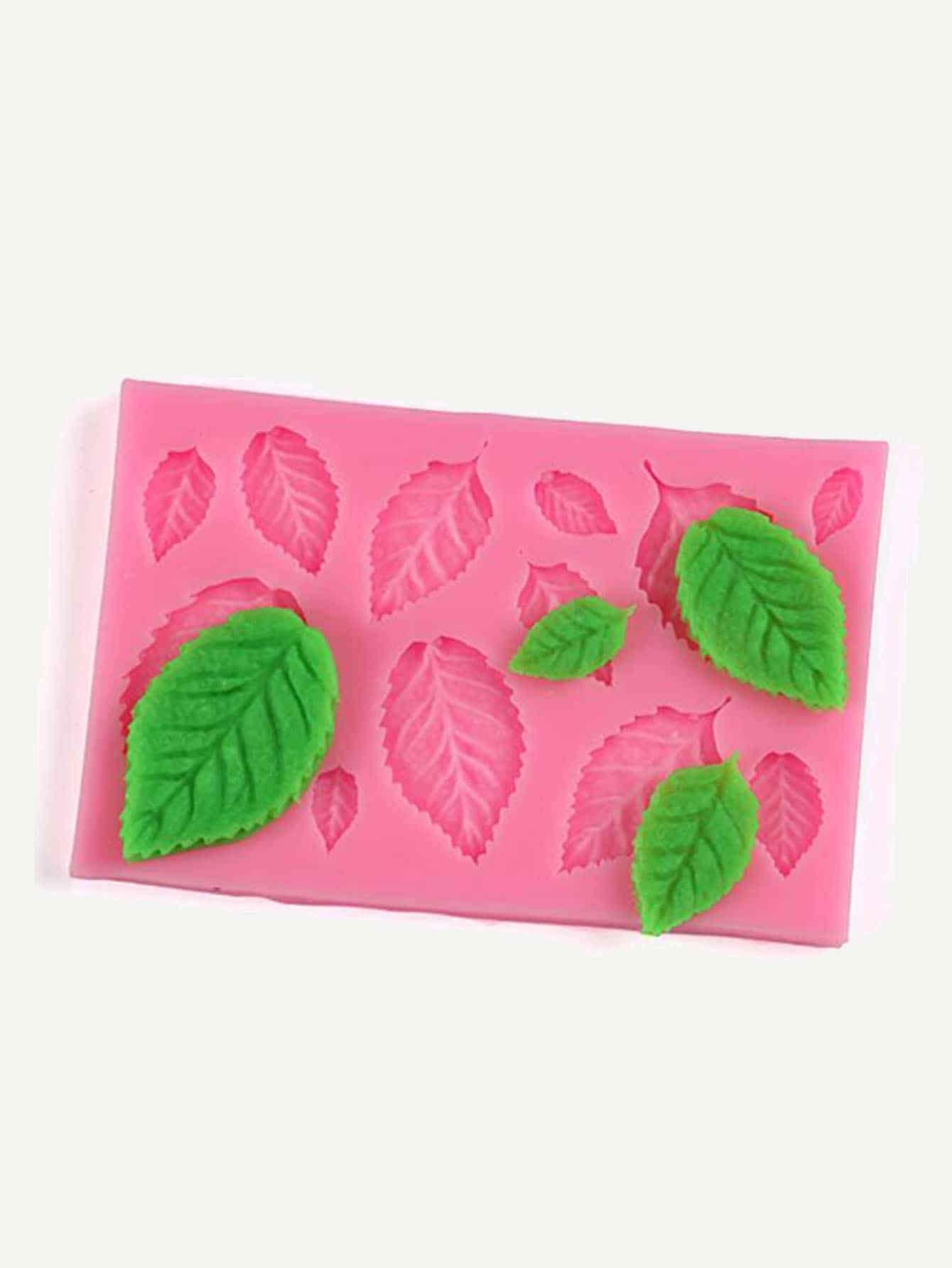 Купить Формовка для пирожное в форме случайных цветных листьев 1 шт, null, SheIn