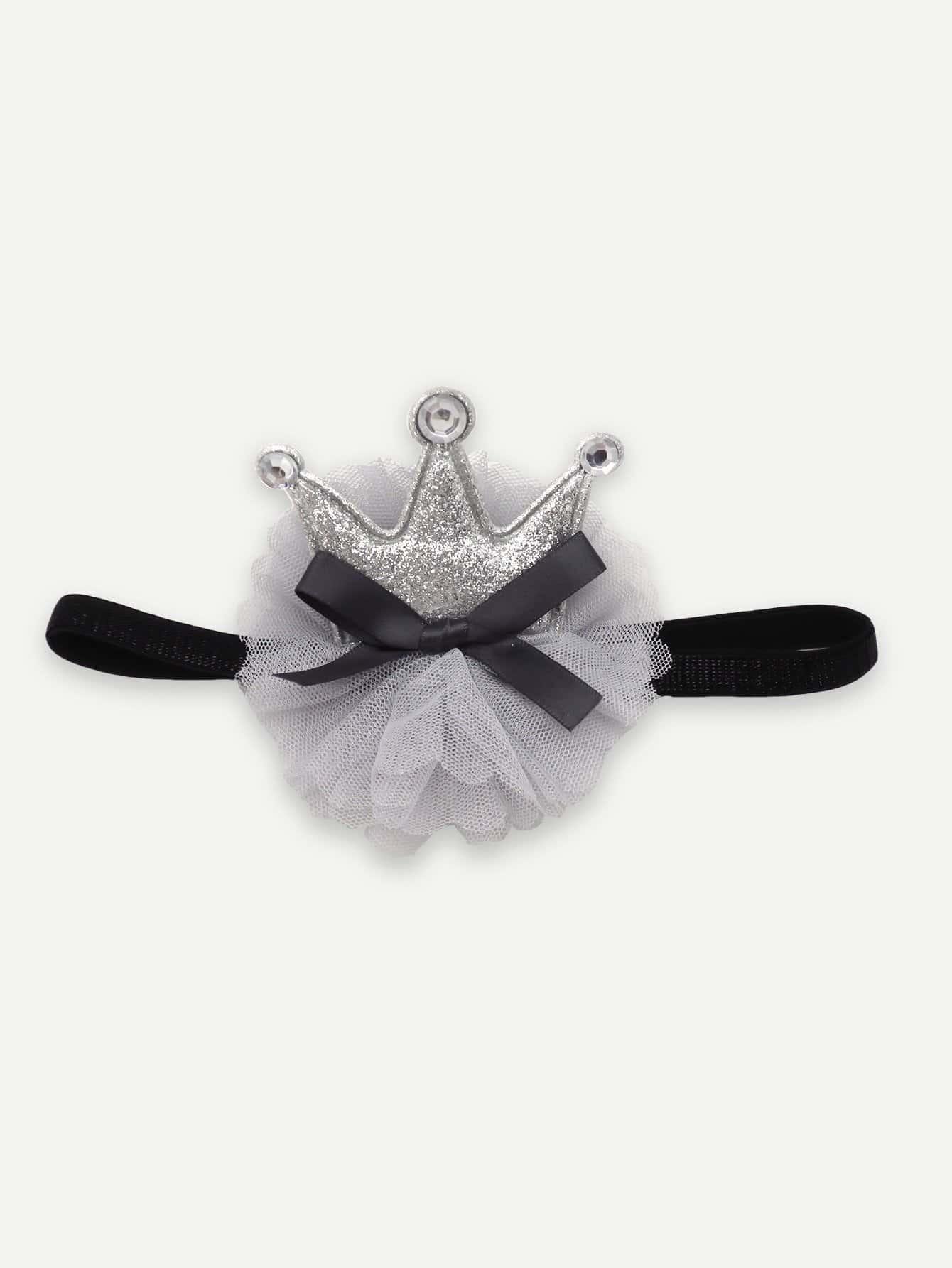 Купить Бандана с украшением короны для девочек, null, SheIn