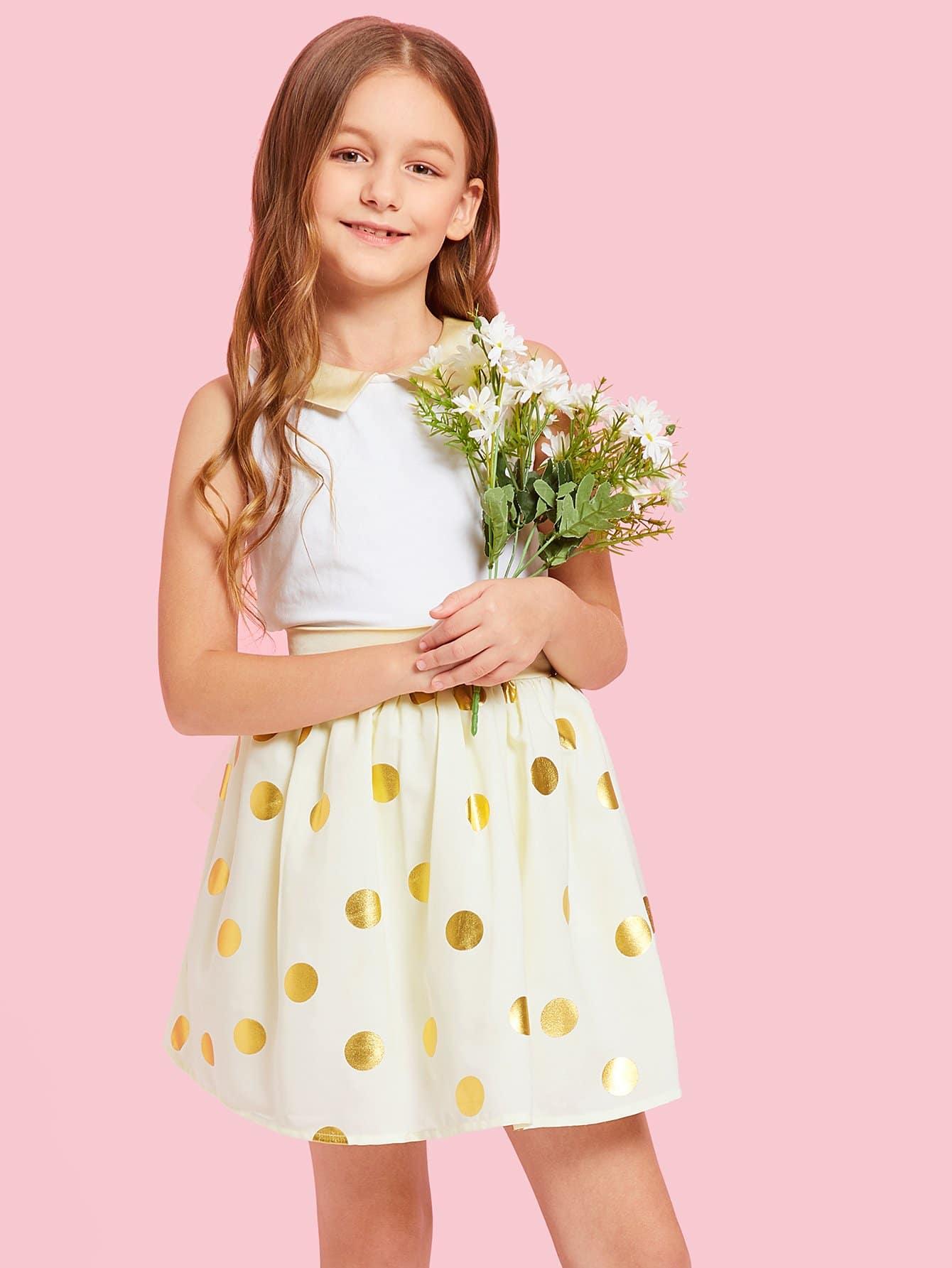 Купить Набор для девочек с длинным рукавом для девочек, Sashab, SheIn