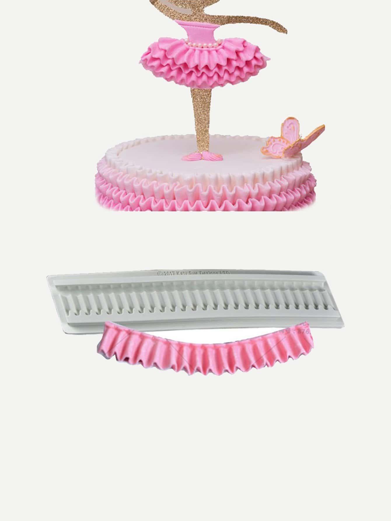 Купить Плиссированныйрюш для торта 1 шт, null, SheIn