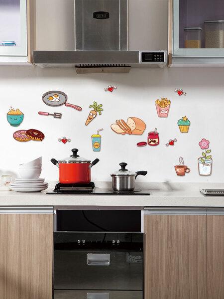Food Print Wall Sticker
