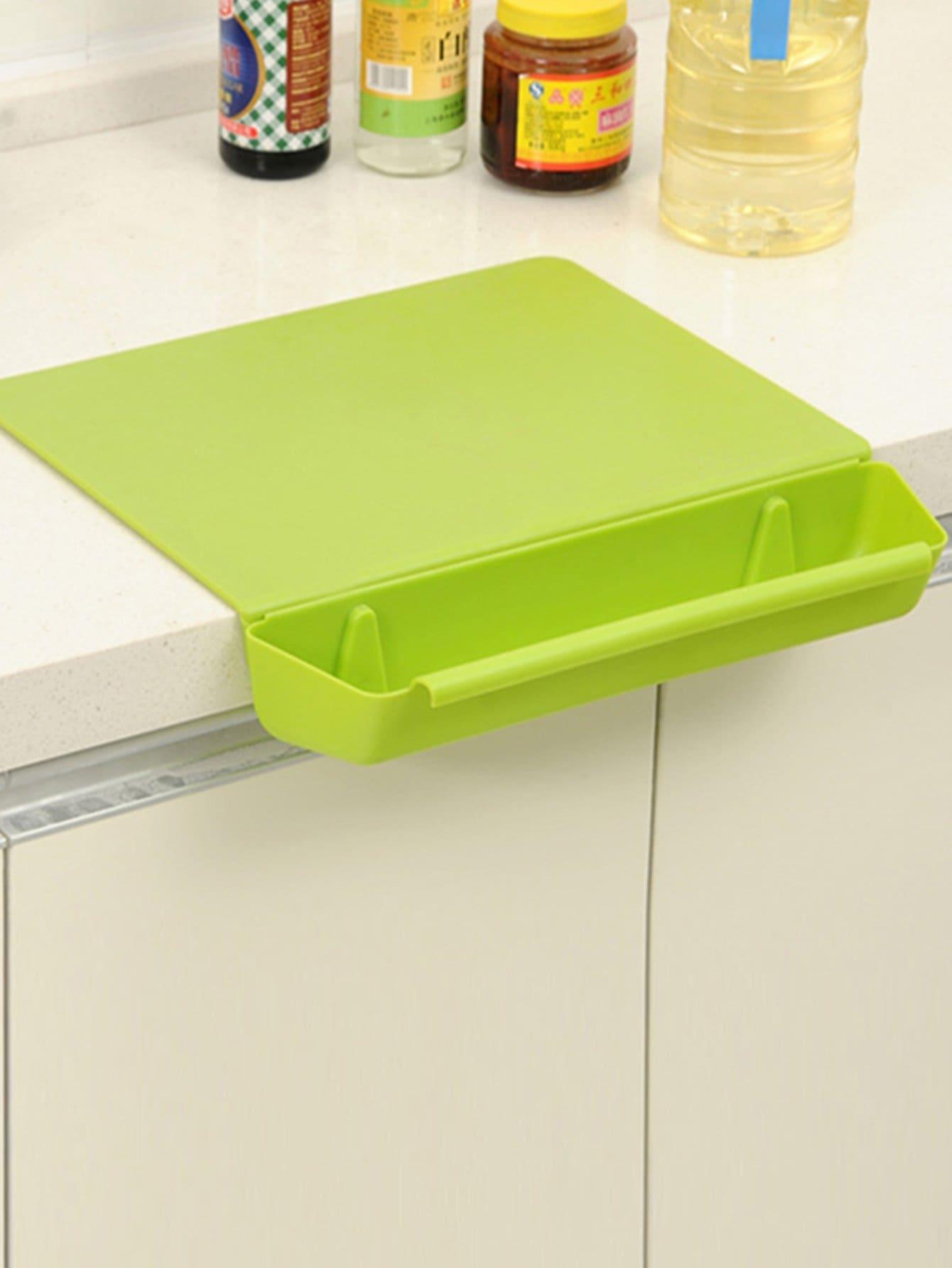 Резка доска с съемная коробка для хранения