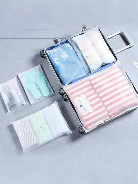 Clear Storage Bag Set 5pcs