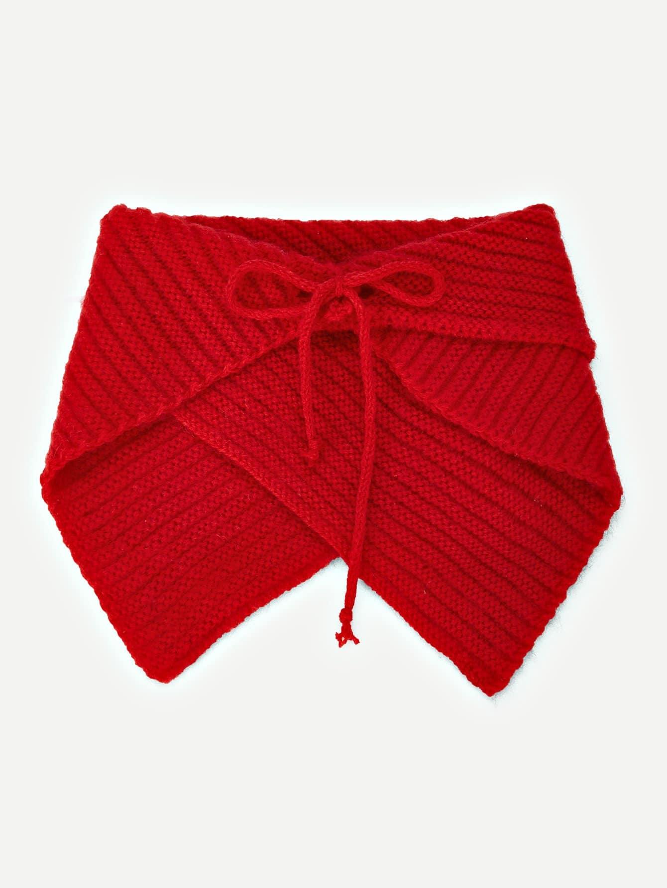 Купить Рождественский вязаный шарф, null, SheIn