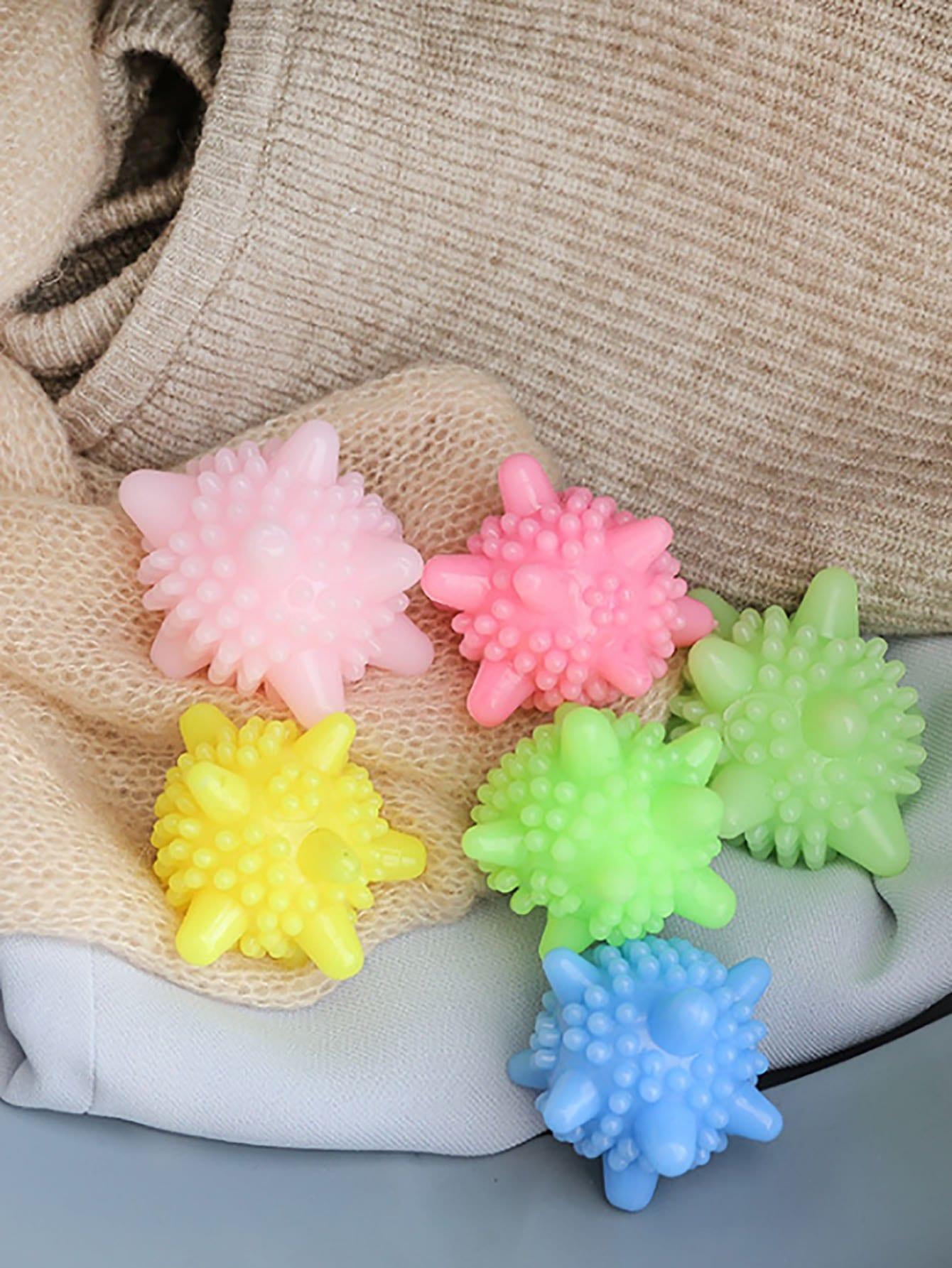 Случайный цветной шарик для стирки 10 шт., null, SheIn  - купить со скидкой