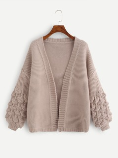 Crochet Bishop Sleeve Cardigan