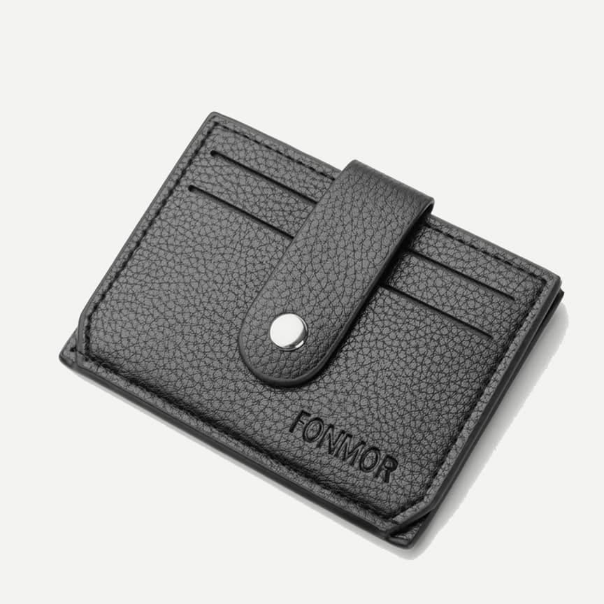 Текстурированный PU кошелек карты от SHEIN