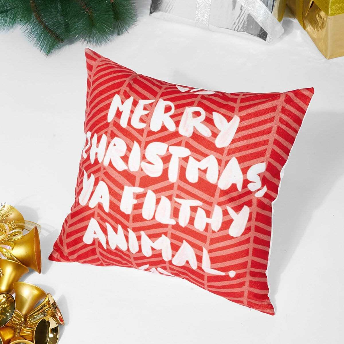 Kerst Print Kussenhoes 1PC