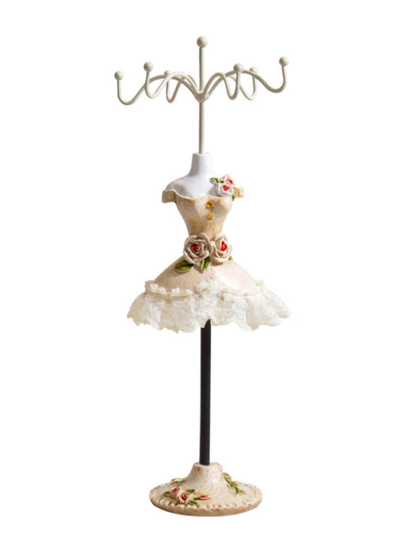 Купить Держатель для ювелирных изделий с украшением платья принцессы, null, SheIn