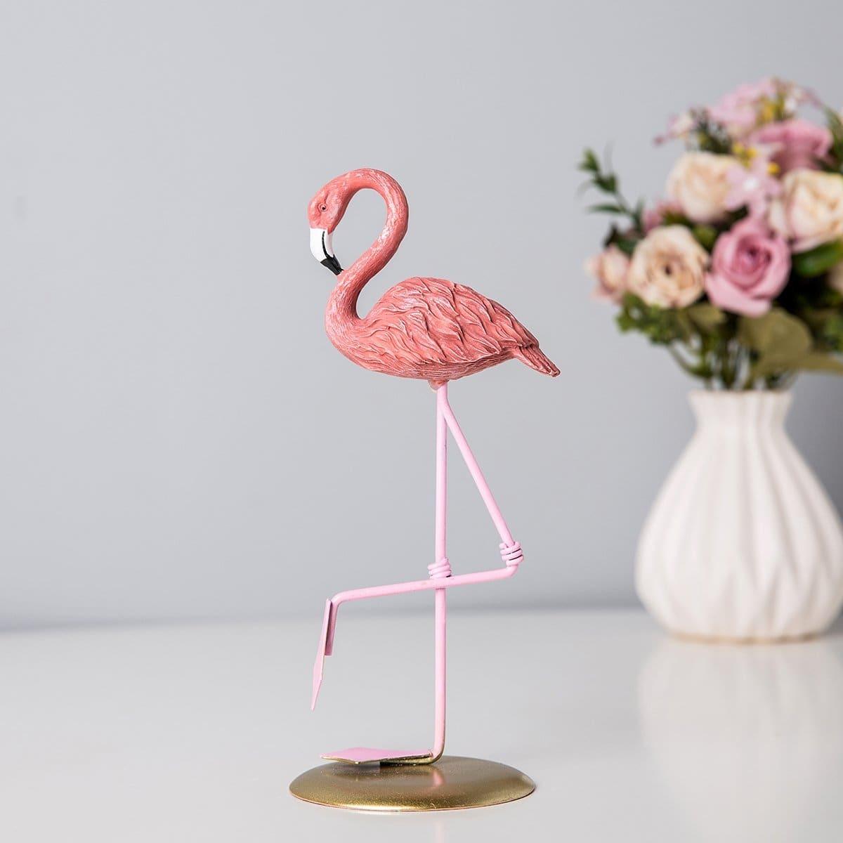 Flamingo decoratief object