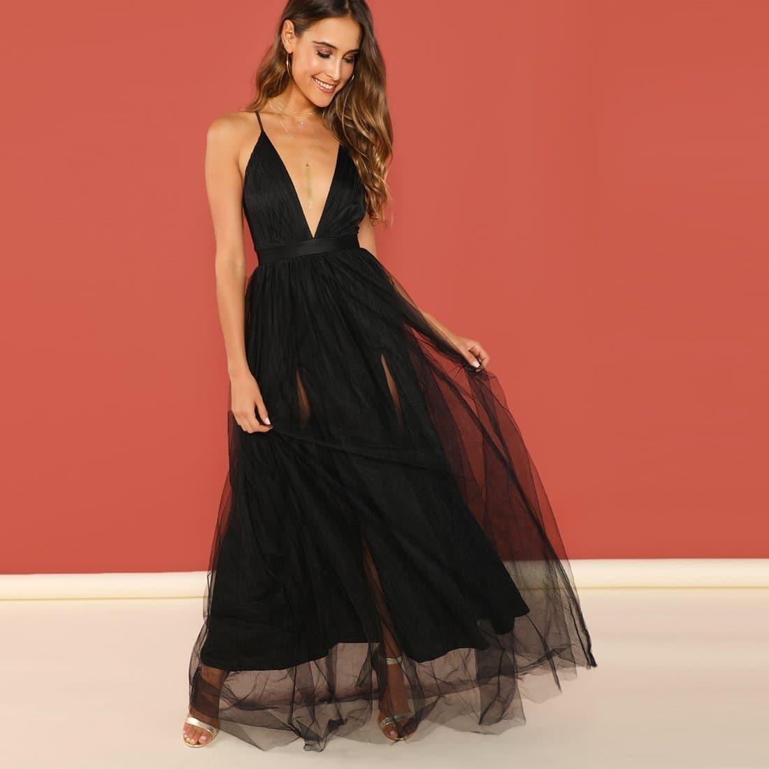 Вечернее Платье С Пышной Юбкой Из Органзы Image