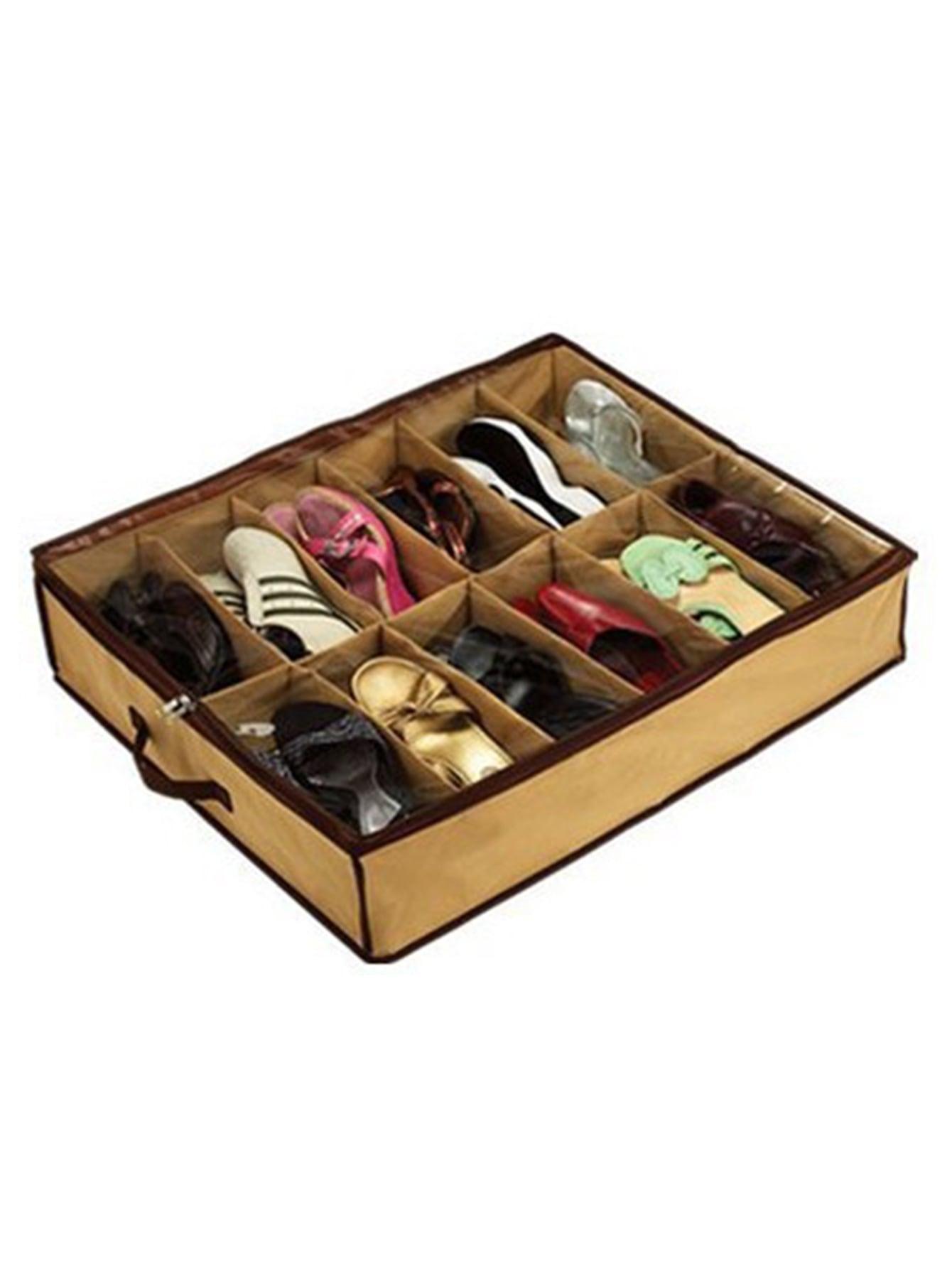 12 отделения сумка для хранения, null, SheIn  - купить со скидкой