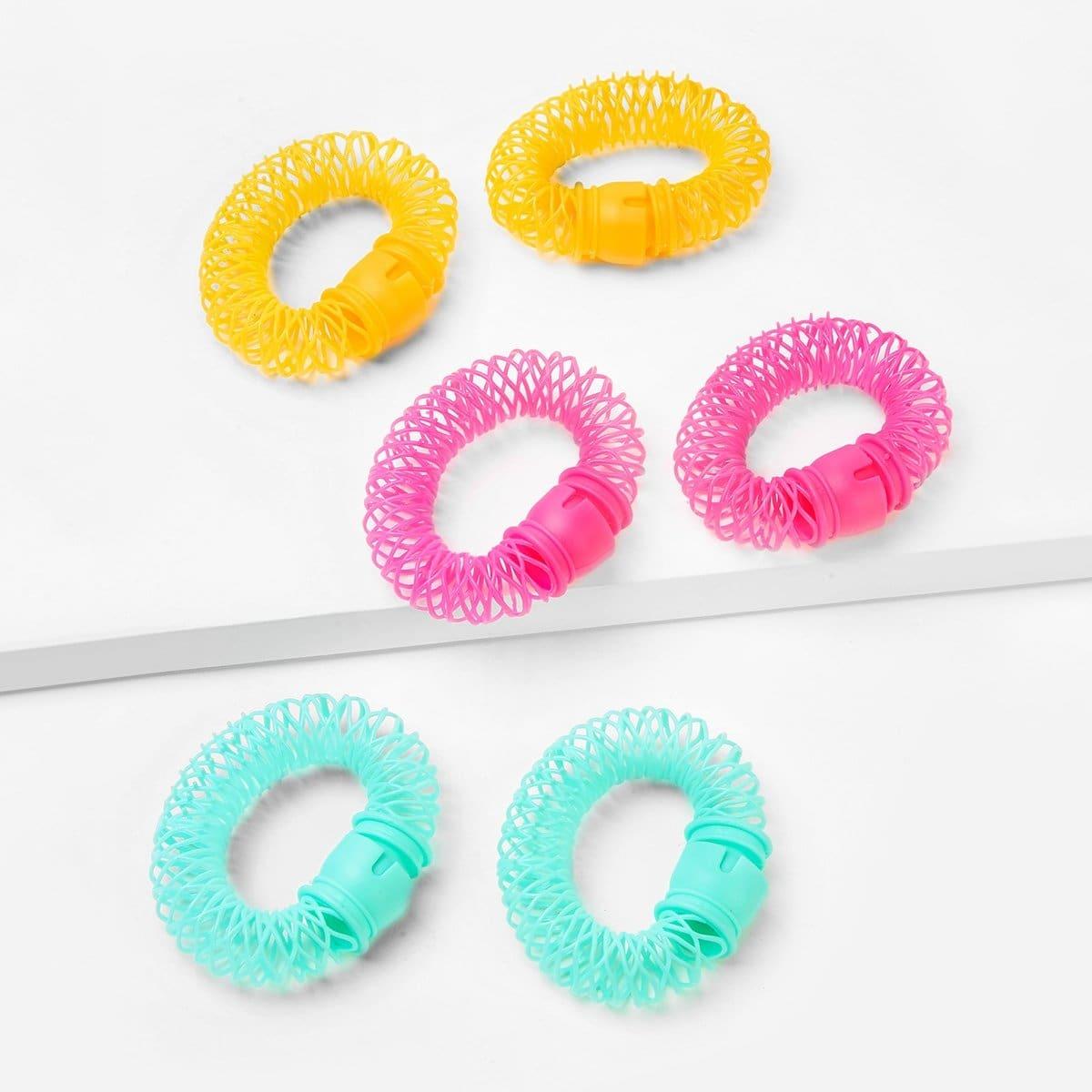 Donut Curly Hair Artifact 6st
