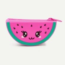 Girls Watermelon Shaped Purse (bag181012602) photo