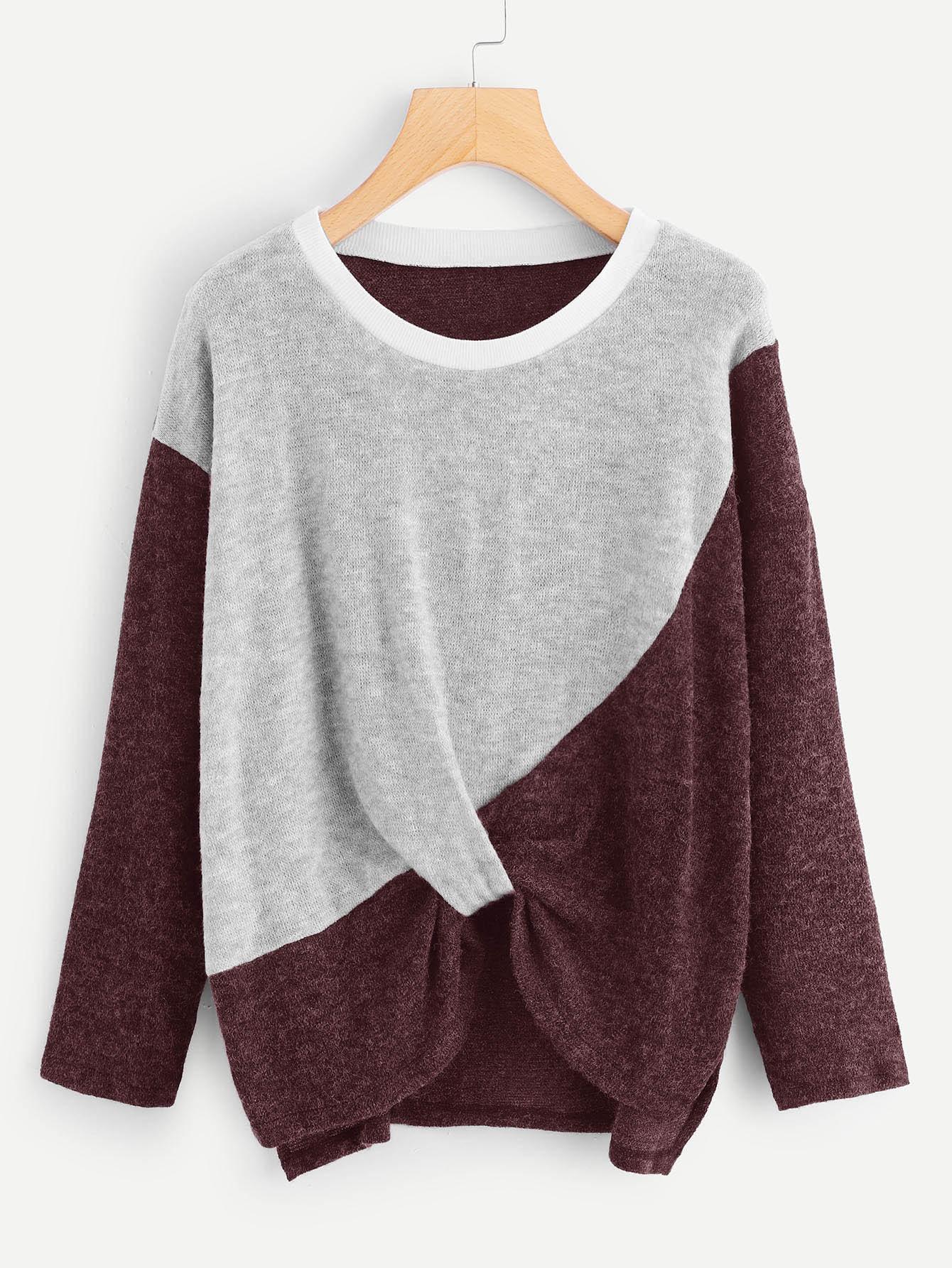 Фото - Кроить и шить свитер от SheIn разноцветного цвета