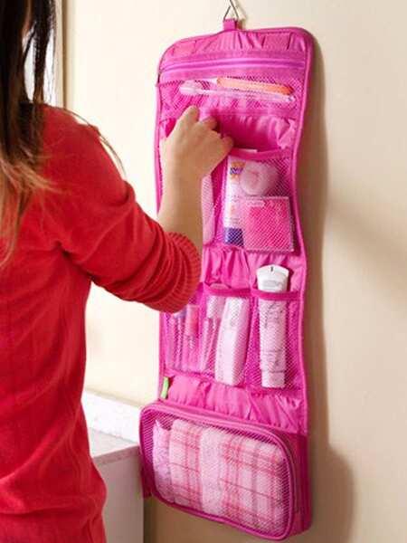 Hangable Roll-up Travel Storage Bag