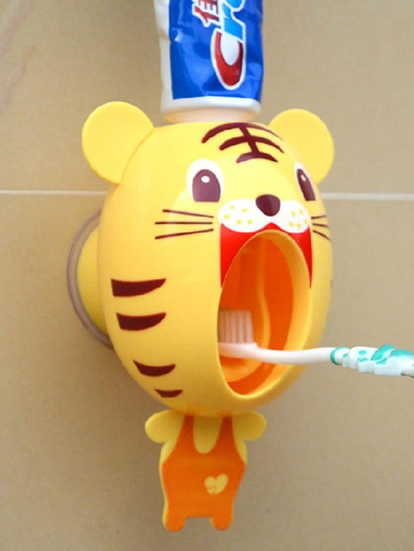 Купить Экструдер для зубной пасты в форме тигра, null, SheIn