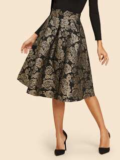 Flare Flower Skirt