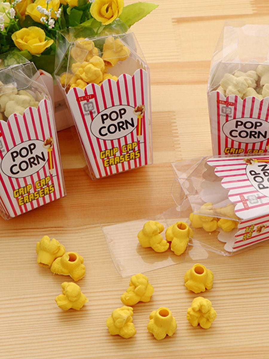 Купить Ластик в форме попкорн 12 шт, null, SheIn