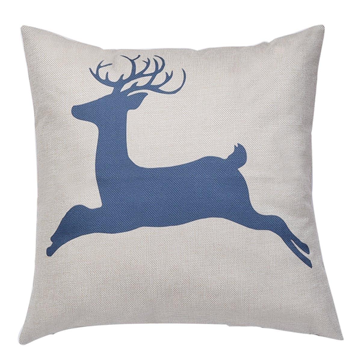 Deer Print Kussenhoes 1PC