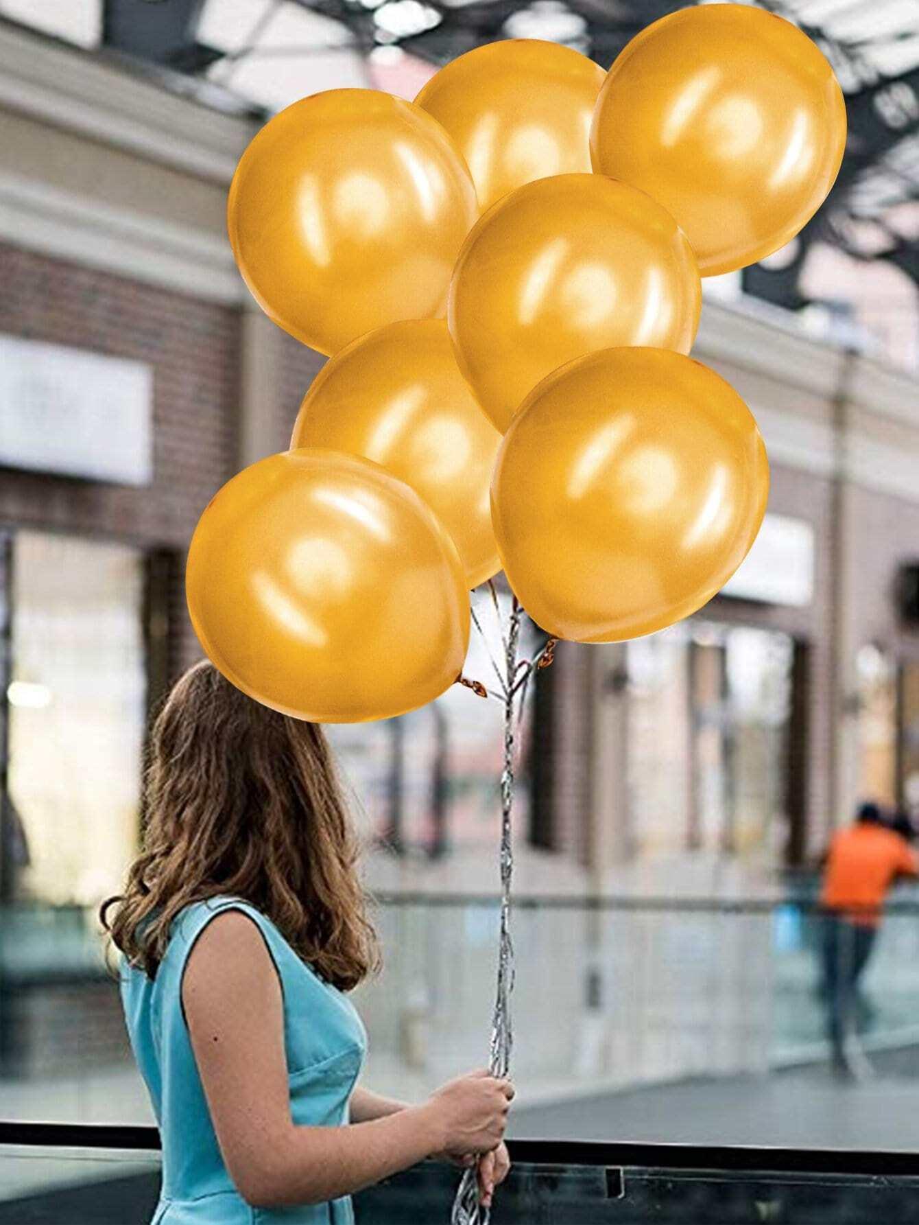 Купить 10 дюймов круглый воздушный шар 30 шт, null, SheIn