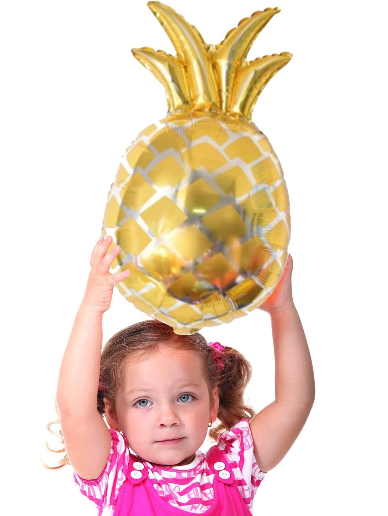 Купить Воздушный шар в форме ананаса 1 шт, null, SheIn