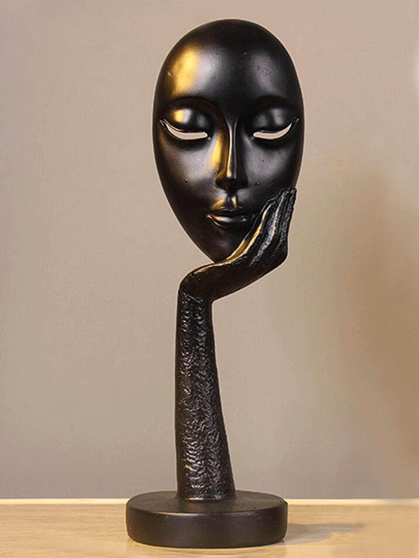 Купить Ремесел украшения в форме абстрактного лица, null, SheIn
