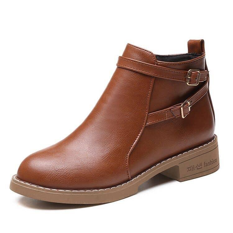 Bruin Comfortabel Laarzen