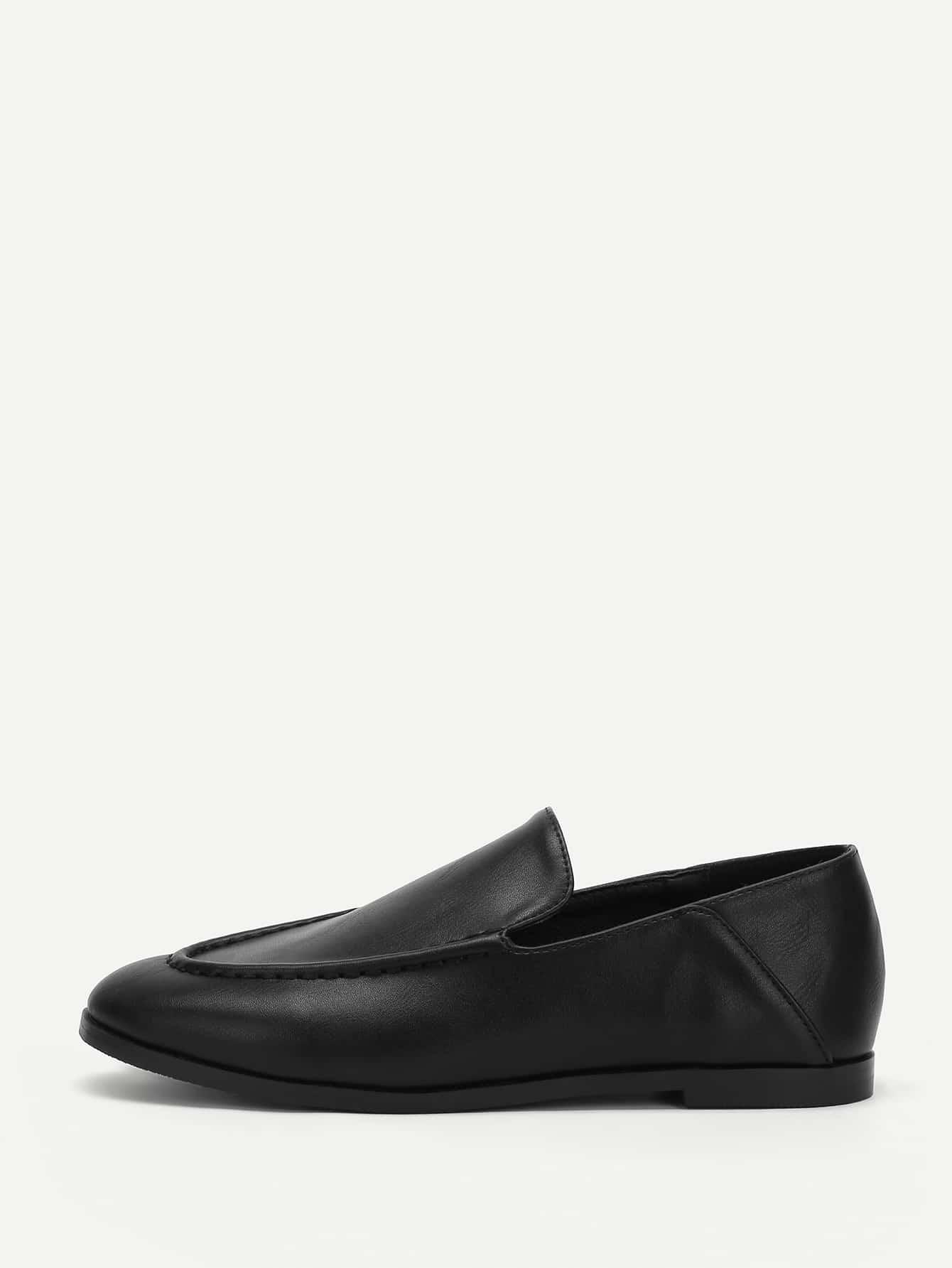 Купить Противоскользящие однотонные туфли на плоской подошве, null, SheIn