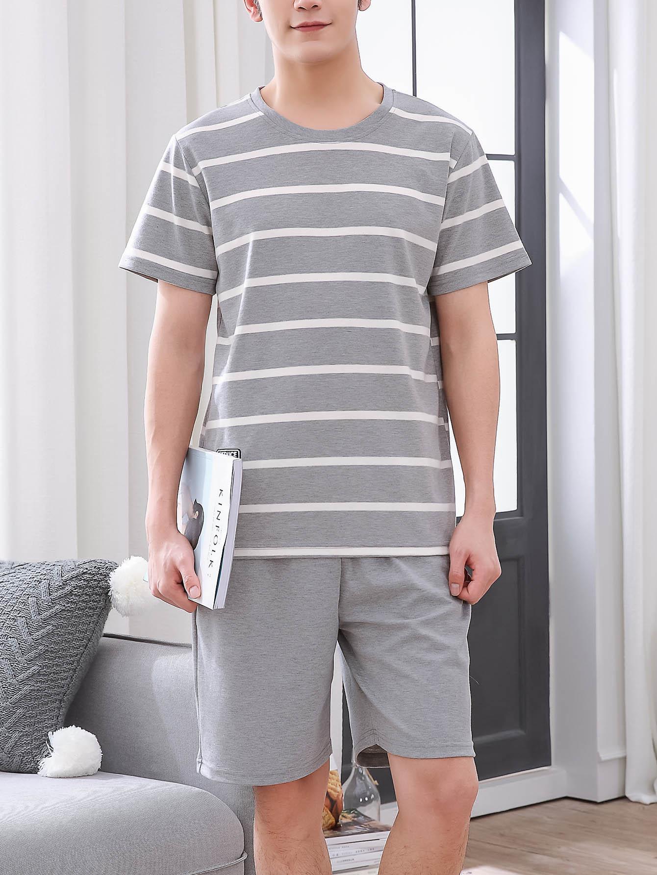 Мужская полосатая пижама от SheIn