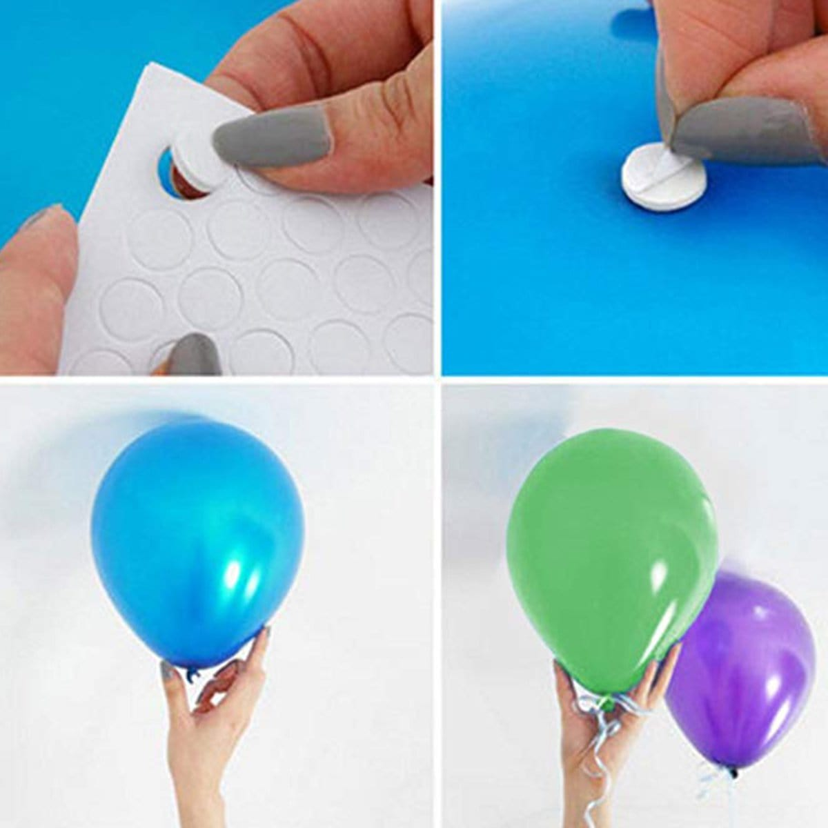 Balloon Attachment Dubbelzijdige kleefstof 200 punten