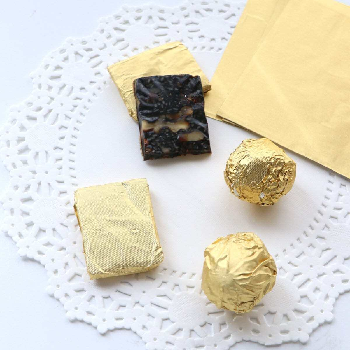 Aluminiumfolie Chocolade Wrapper 100st