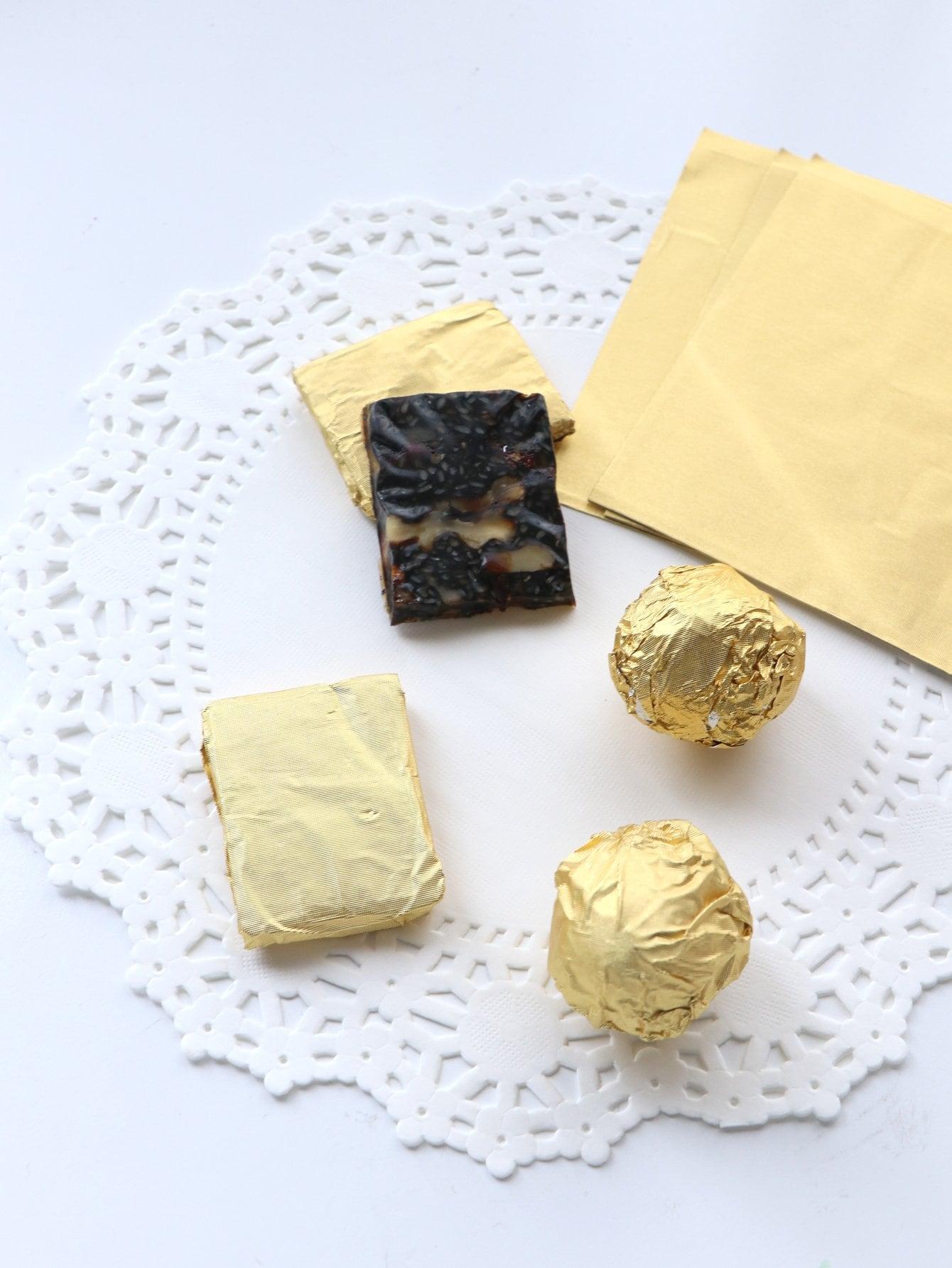 Купить Алюминиевая обёрточная бумага для шоколада 100 шт, null, SheIn