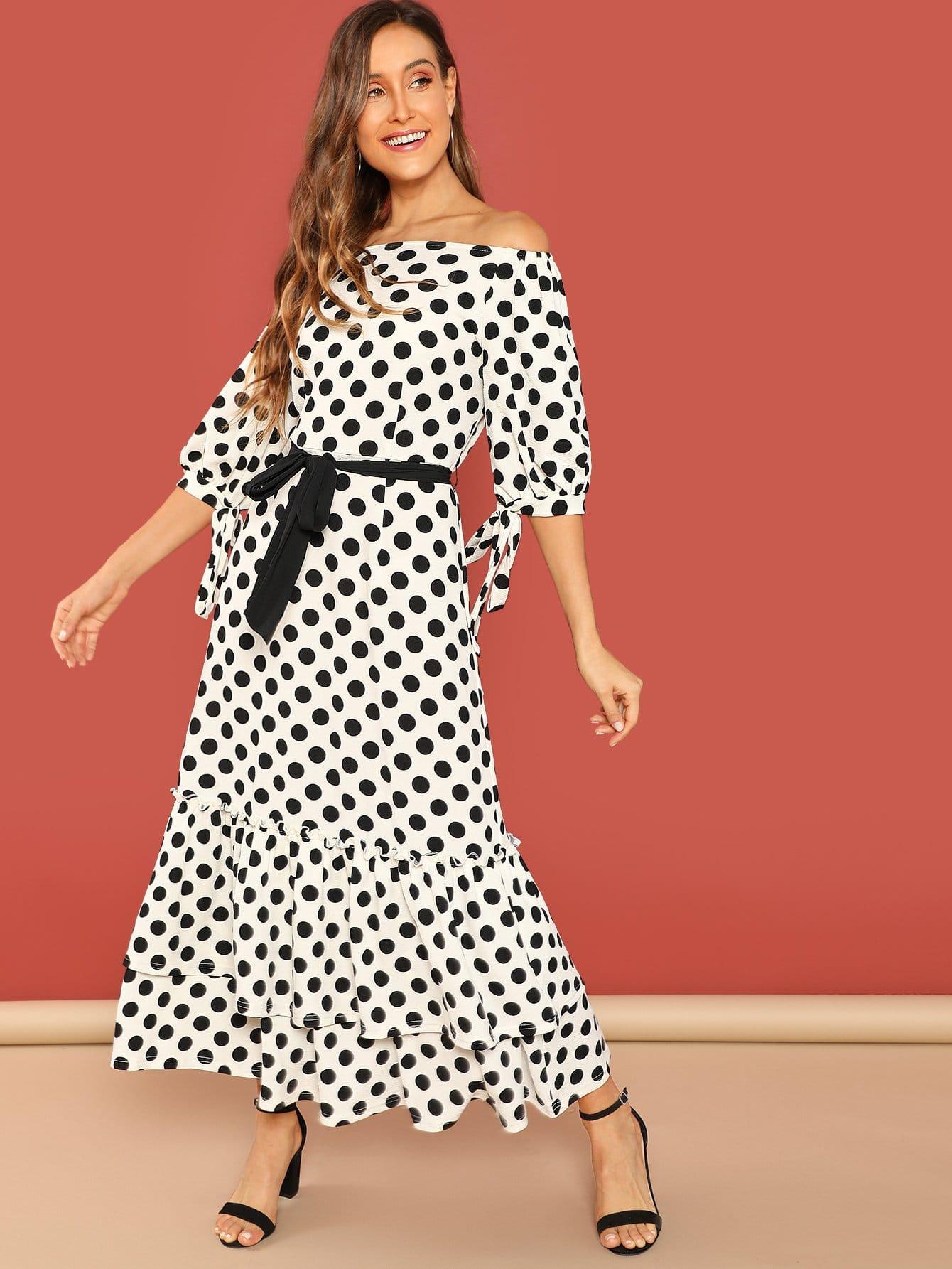 Платье  Чёрнобелые цвета