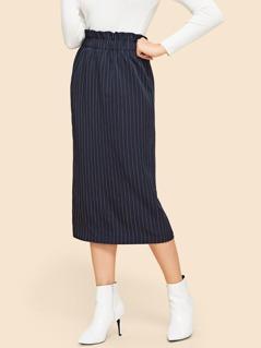 Waist Elastic Skinny Skirt