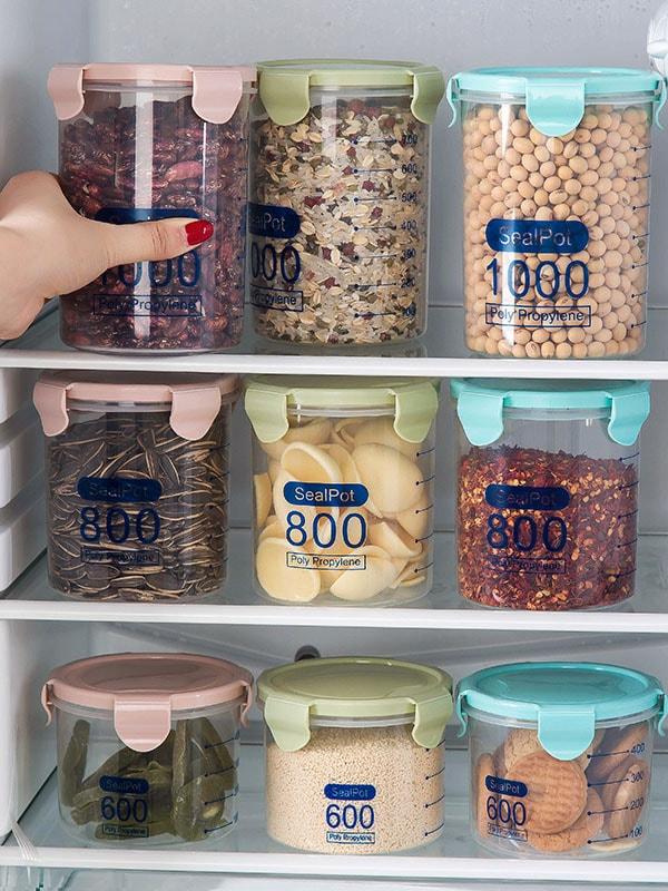 Купить Случайный цветный 3 шт запечатанный ящик 600 мл и 800 мл и 1000 мл, null, SheIn