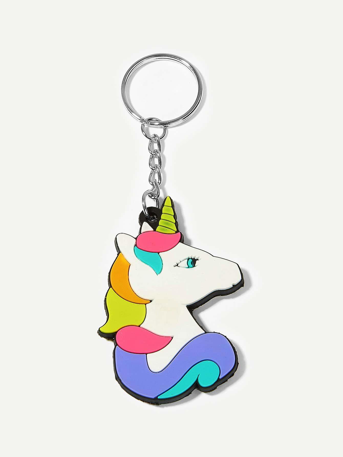 Купить Брелок для ключей в форме мультяшного животного, null, SheIn