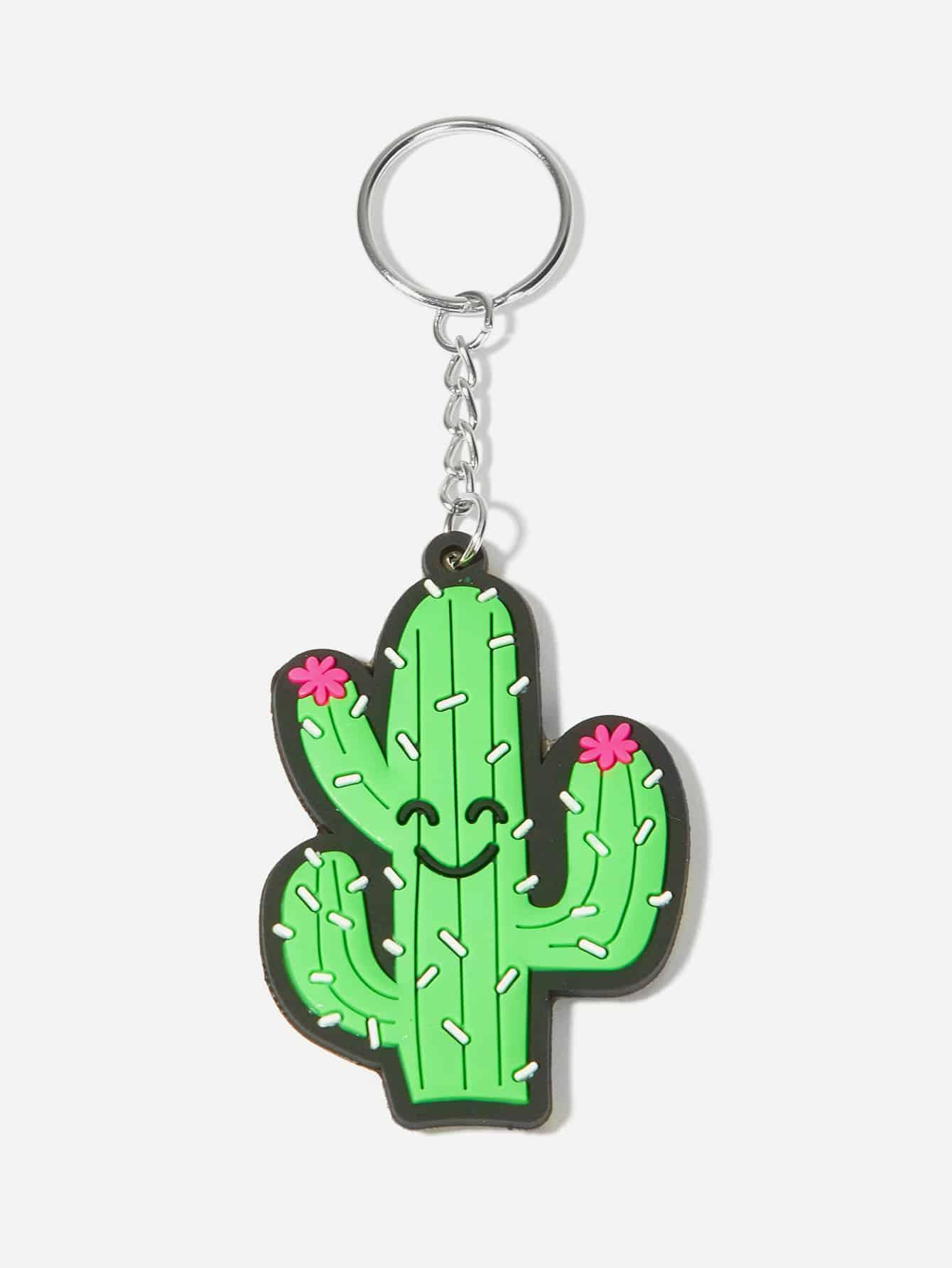 Купить Брелок для ключей в форме кактуса, null, SheIn