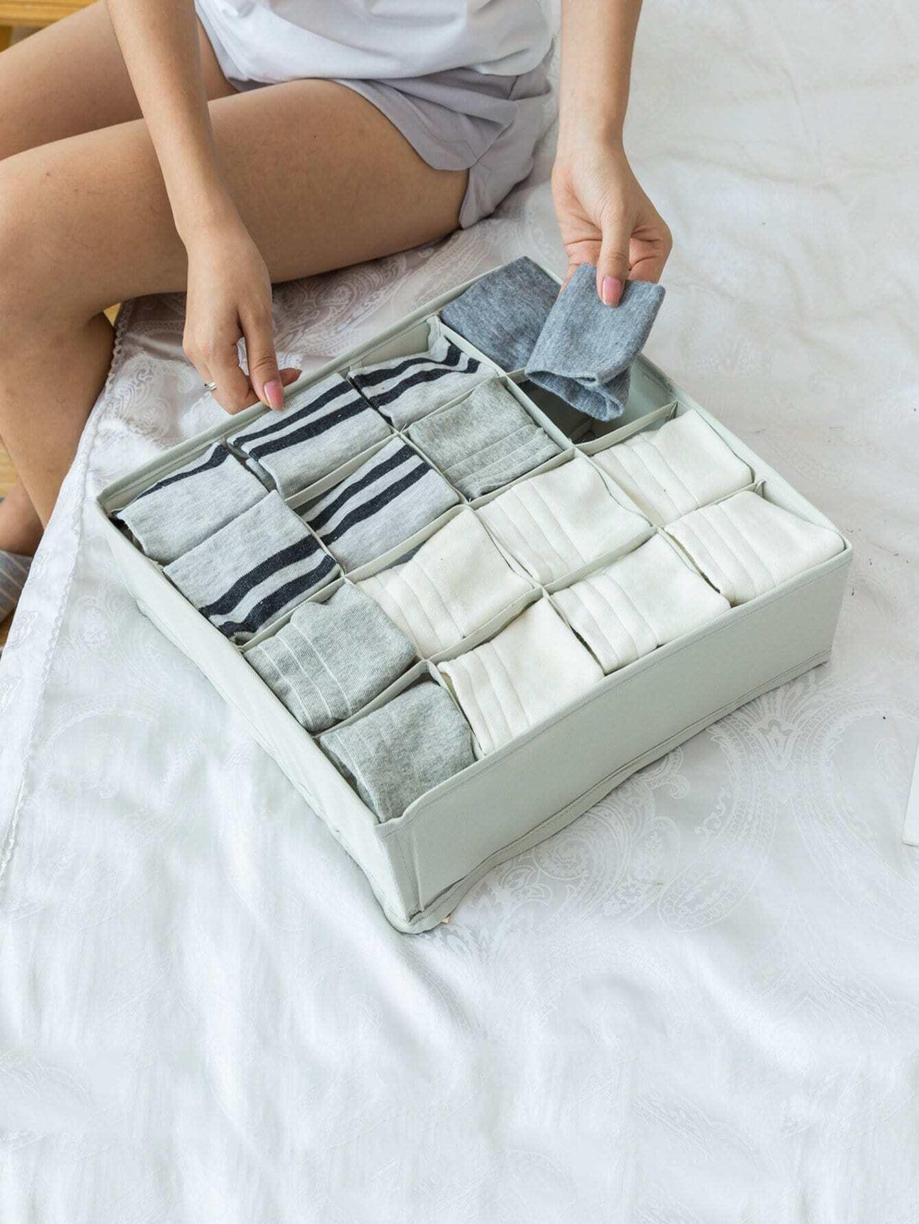 Купить 16 сетки ящик для хранения носки, null, SheIn