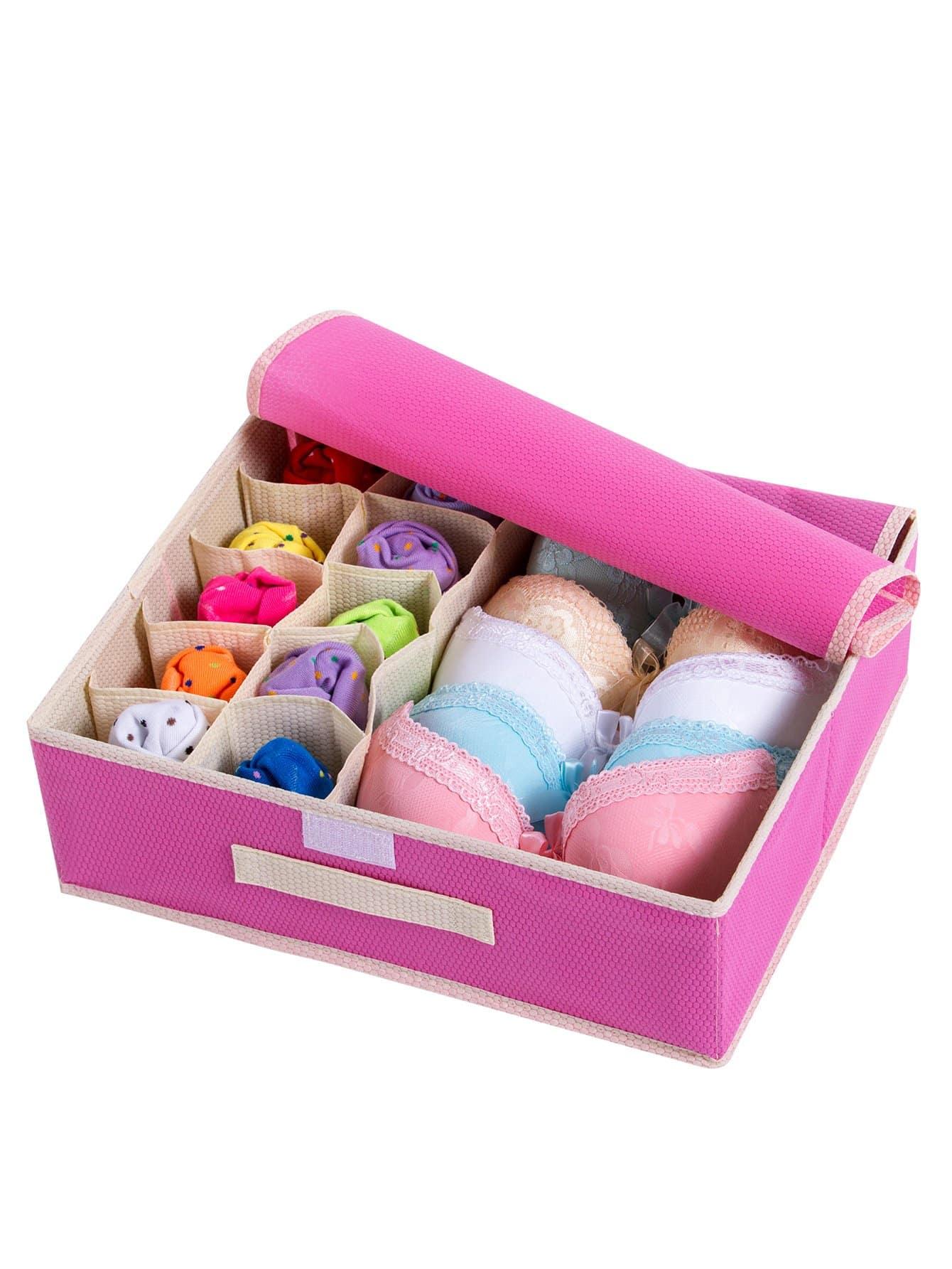 Купить 11 сетка коробка для хранения нижнего белья, null, SheIn