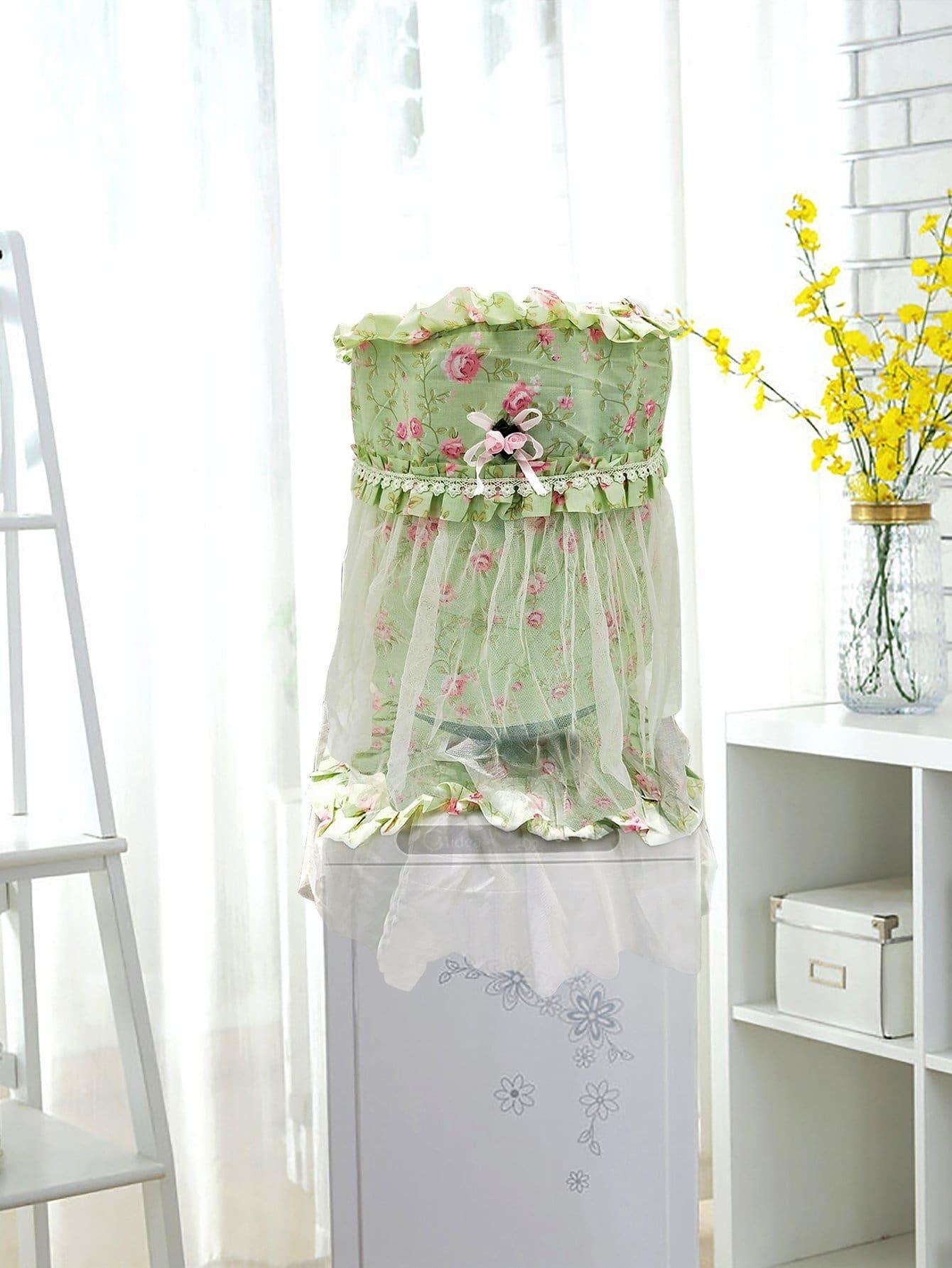 Купить Питьевая фонтанная крышка с принтом цветов, null, SheIn