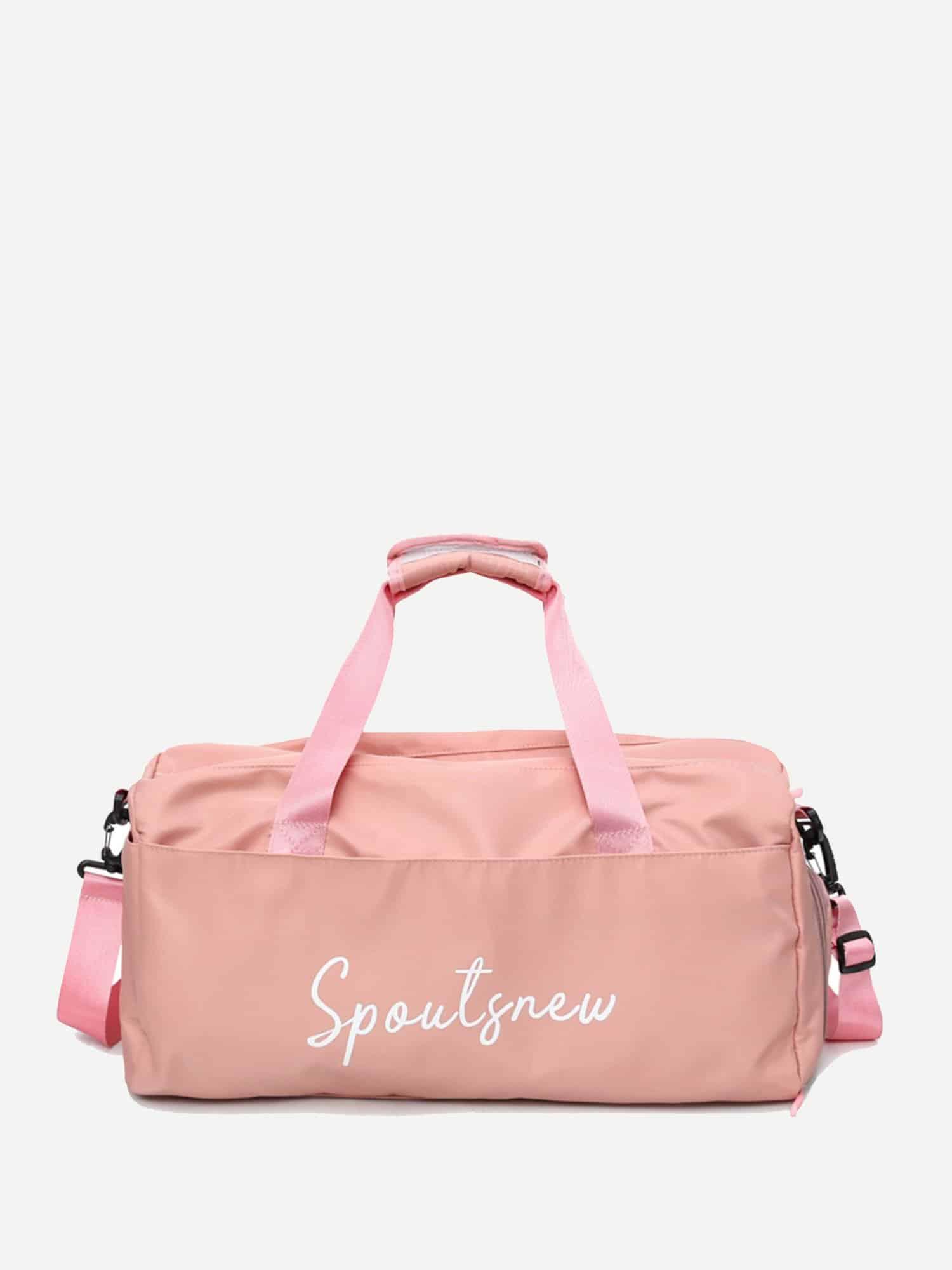 Купить Спортивная сумка с текстовым принтом, null, SheIn